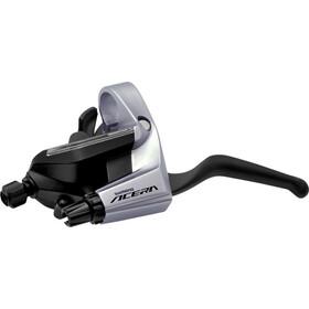 Shimano Acera ST-T3000 - Maneta de cambio - 9 velocidades trasero negro/Plateado